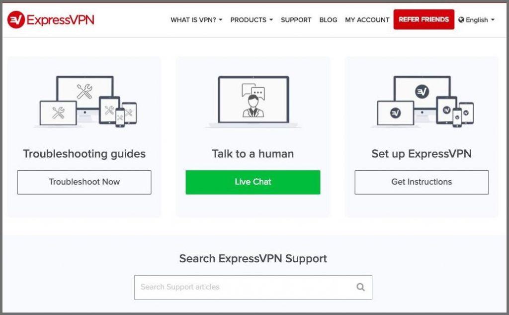 ExpressVPN terbaik bantuan pelanggan customer service
