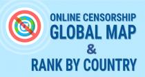 Penyensoran Online: Peta & Peringkat Global dari Batasan Internet di Seluruh Negara (Infografis)